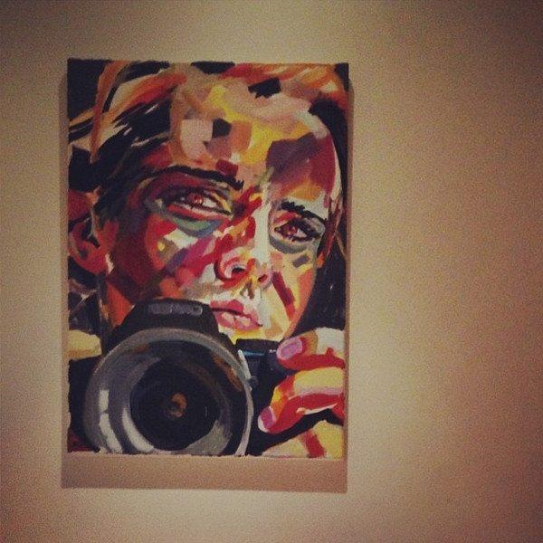 10 emma watson self portrait painting