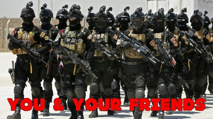 10 special forces