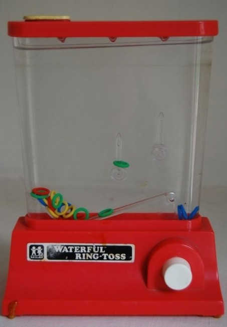 17 waterful ring toss