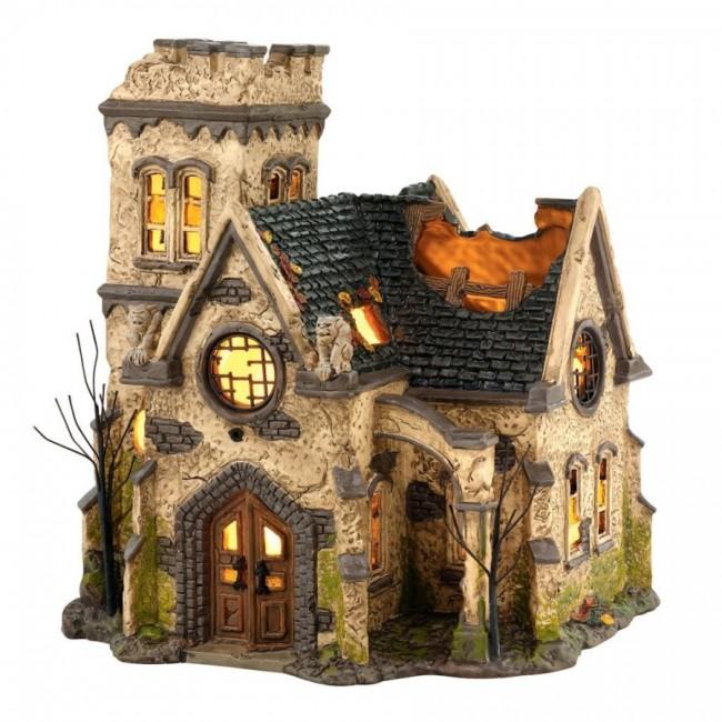 18 haunted church
