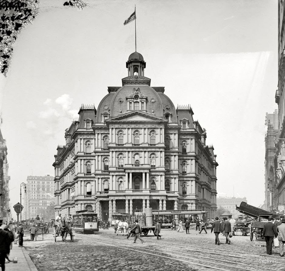 Amazing Photos of Cities in the US Over 100 Years Ago