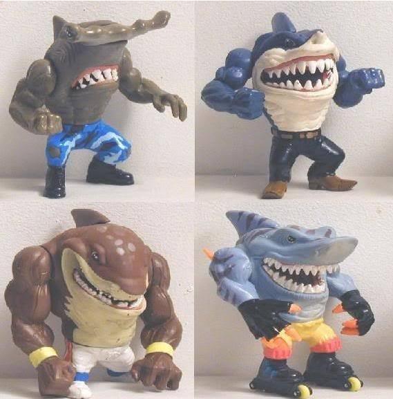 27 street sharks