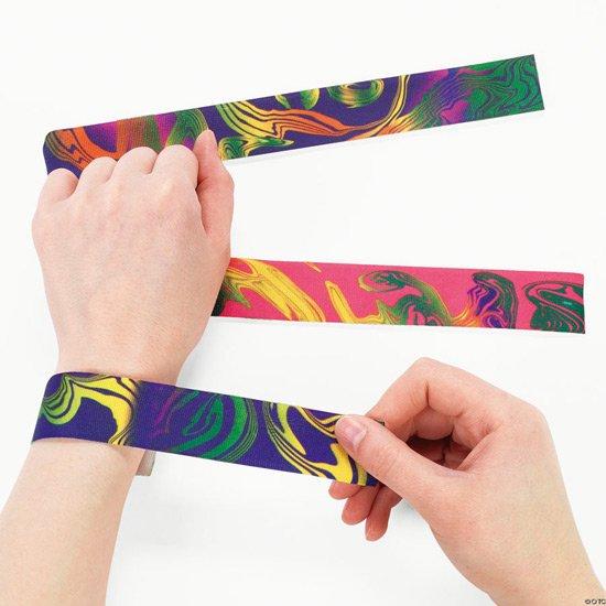42 slap bracelets
