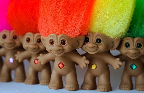 43 treasure trolls