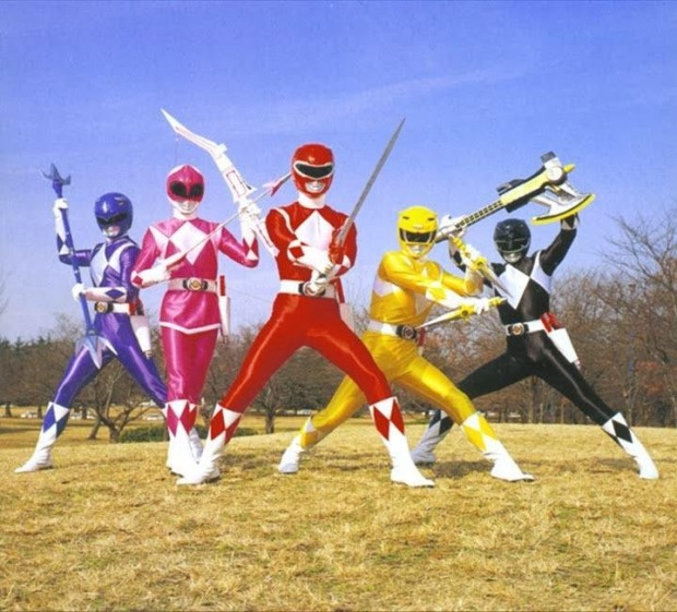 45 power rangers