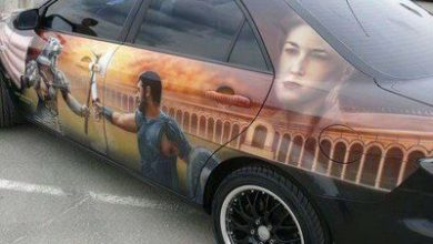 Photo of 10 More Amazing Car Painting Jobs
