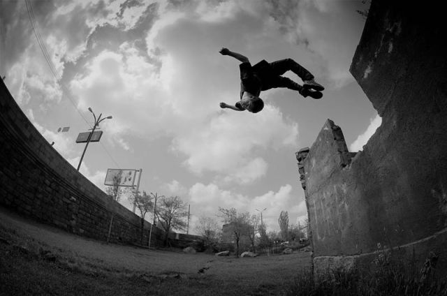 Photos Showing Why Parkour Is So Amazing