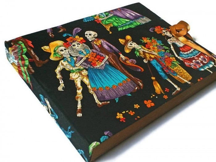 Since Halloween is coming, we consider this Large Hand Bound Sketchbook perfect. Check it out here.
