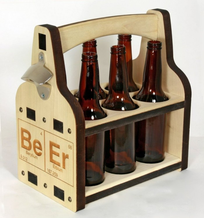 "The ""Beer Caddy"". Really funny! Check it out here."