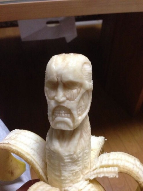 banana sculpture 12