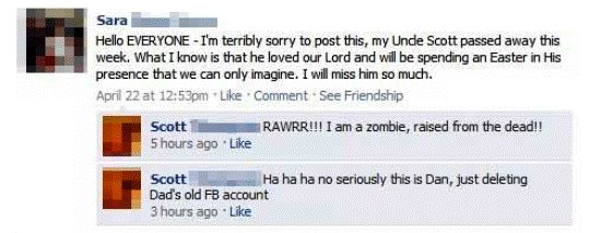 best facebook statuses 10