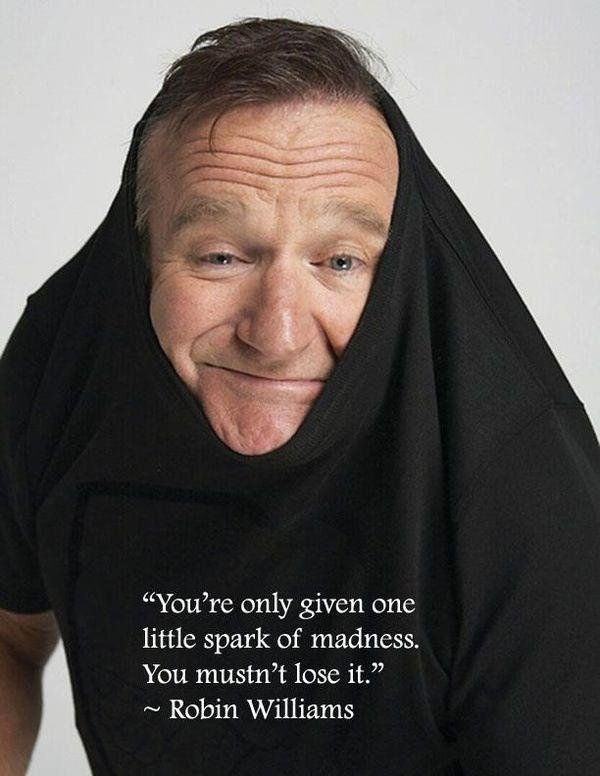 The 15 Most Amazing Robin Williams Quotes - Everything Mixed