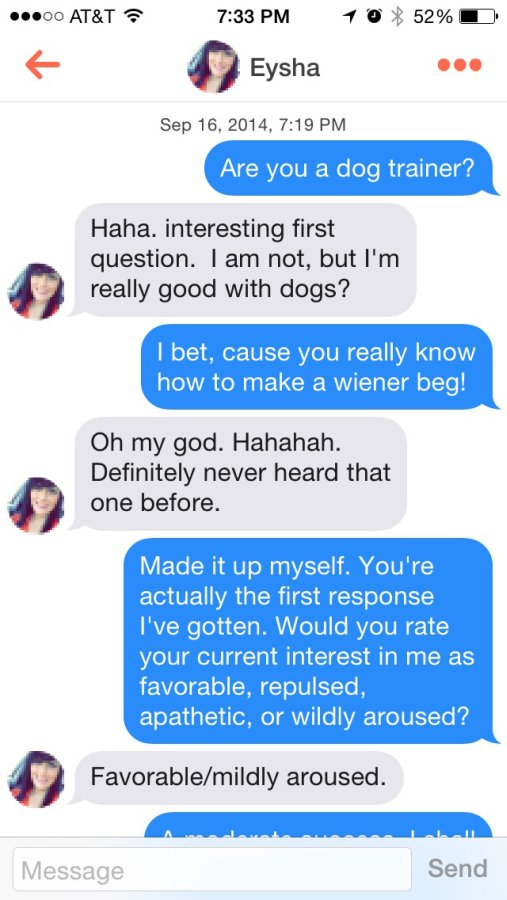 Everything Mixed Funniest Tinder Conversations of the Year