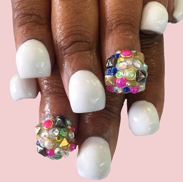 bubble fingernails 06