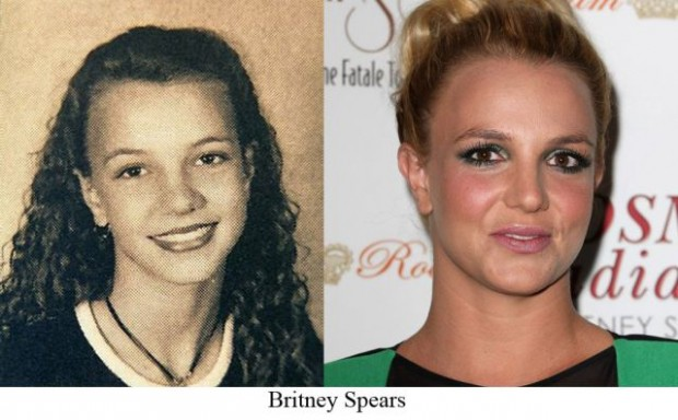 celebrities young and now10