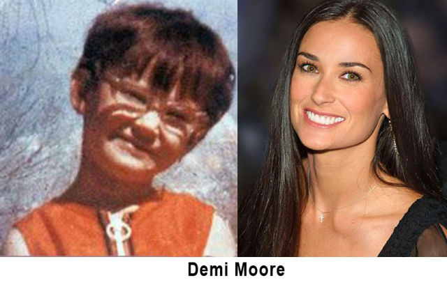 How Did These Celebrities Look Like When They Were Young