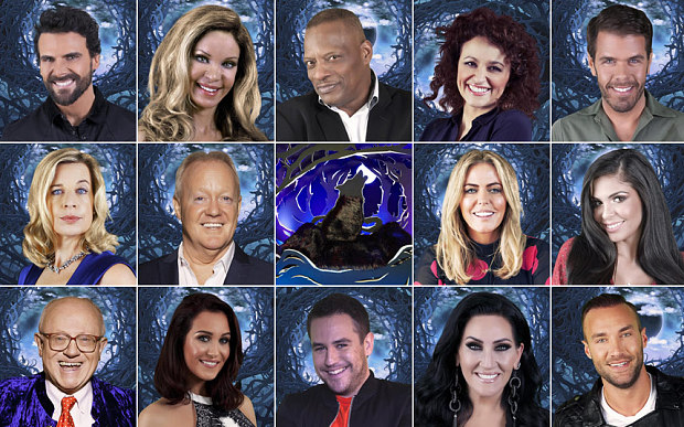 The complete Celebrity Big Brother 2015 line-up