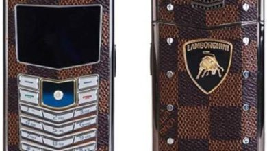 Photo of Phone fake: Lamborghini Vertu, a True Fake Phone