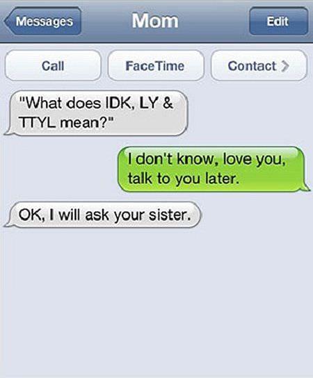 funny parent texts 16