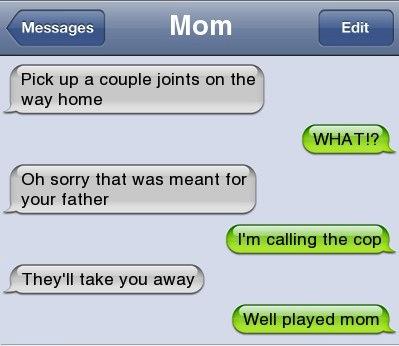 funny parent texts 19