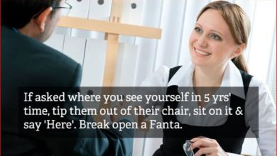 Photo of These Hilarious Job Interview Tips Show Us How Difficult It Is to Get a Job