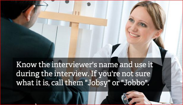 job interview tips 13