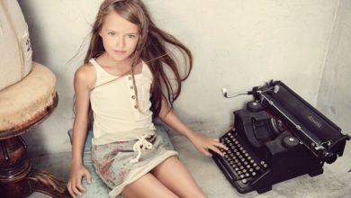 Photo of Most Beautiful Girl in the World Is 9 Year Old Russian Supermodel Kristina Pimenova