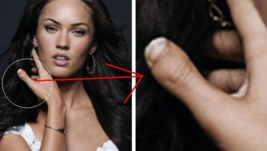 Photo of Beautiful Megan Fox Has Toe Thumb