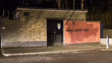 Photo of British Graffiti Artist's Squabble with Authorities Has Hilarious and Unexpected Effects on a Building