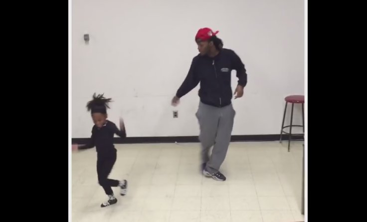 This Little Girl Totally Steals the Show after Interrupting Her Brother's Dancing Session!