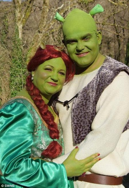 Shrek Wedding Is Real, Awesome