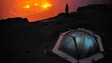Photo of These Breathtaking Photos of the Active Nyiragongo Volcano in Africa Will Leave You Speechless