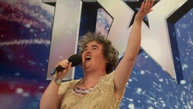 Photo of Susan Boyle Rumored to Have Learning Disability