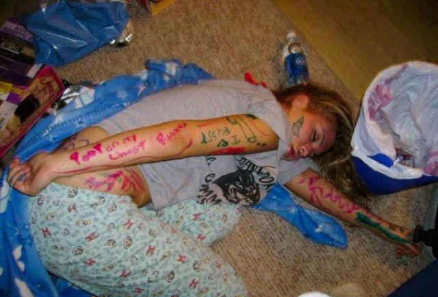 Drunken girl photo 59