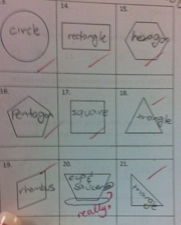wrong but funny test answers 09