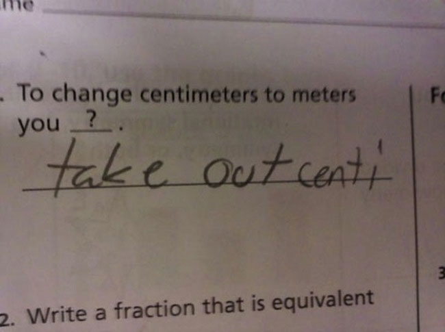 wrong but funny test answers 10