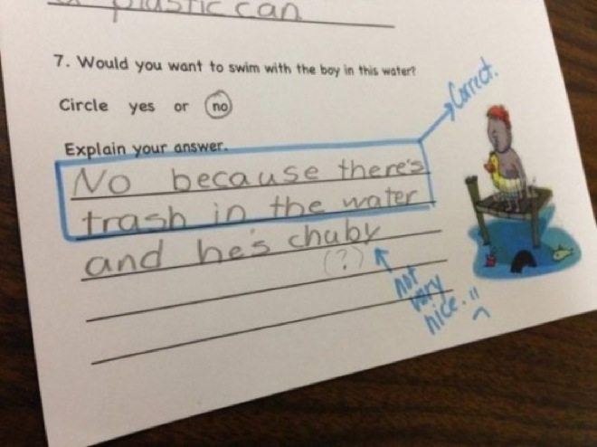 wrong but funny test answers 15