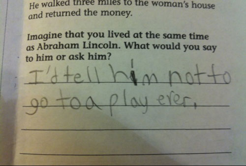 wrong but funny test answers 20