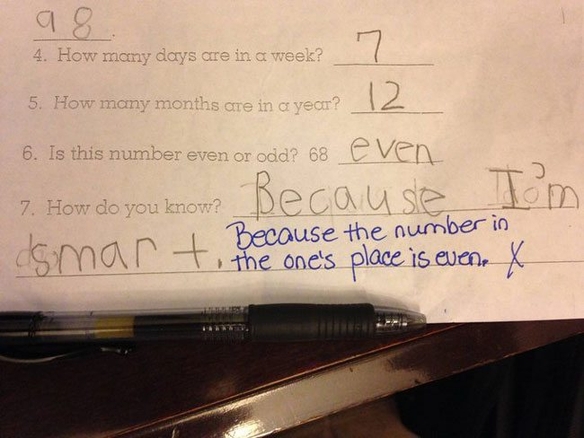 wrong but funny test answers 25