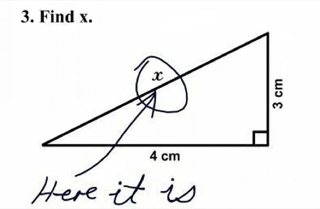 wrong but funny test answers 27