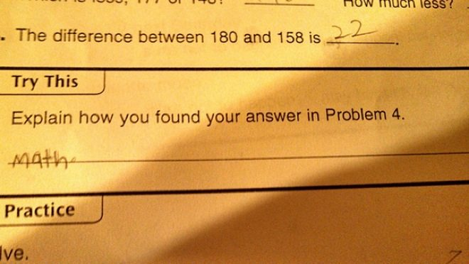 wrong but funny test answers 32
